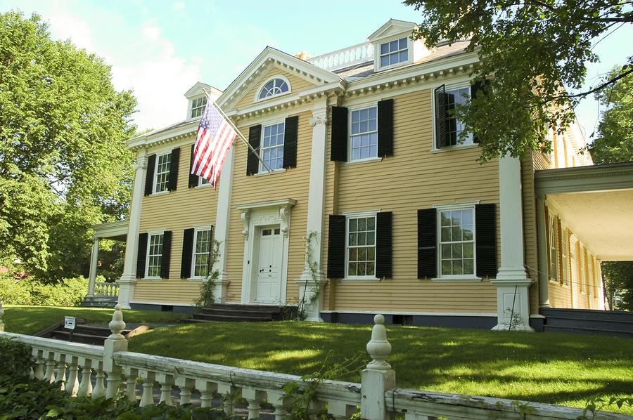 Longfellow National Historic Site in Cambridge, MA