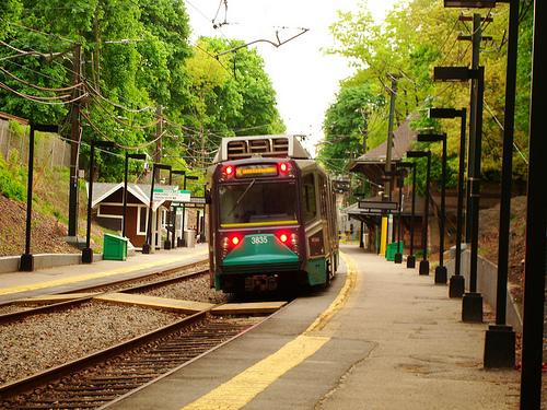 Newton, Massachusetts Newton Highlands MBTA Green Line T