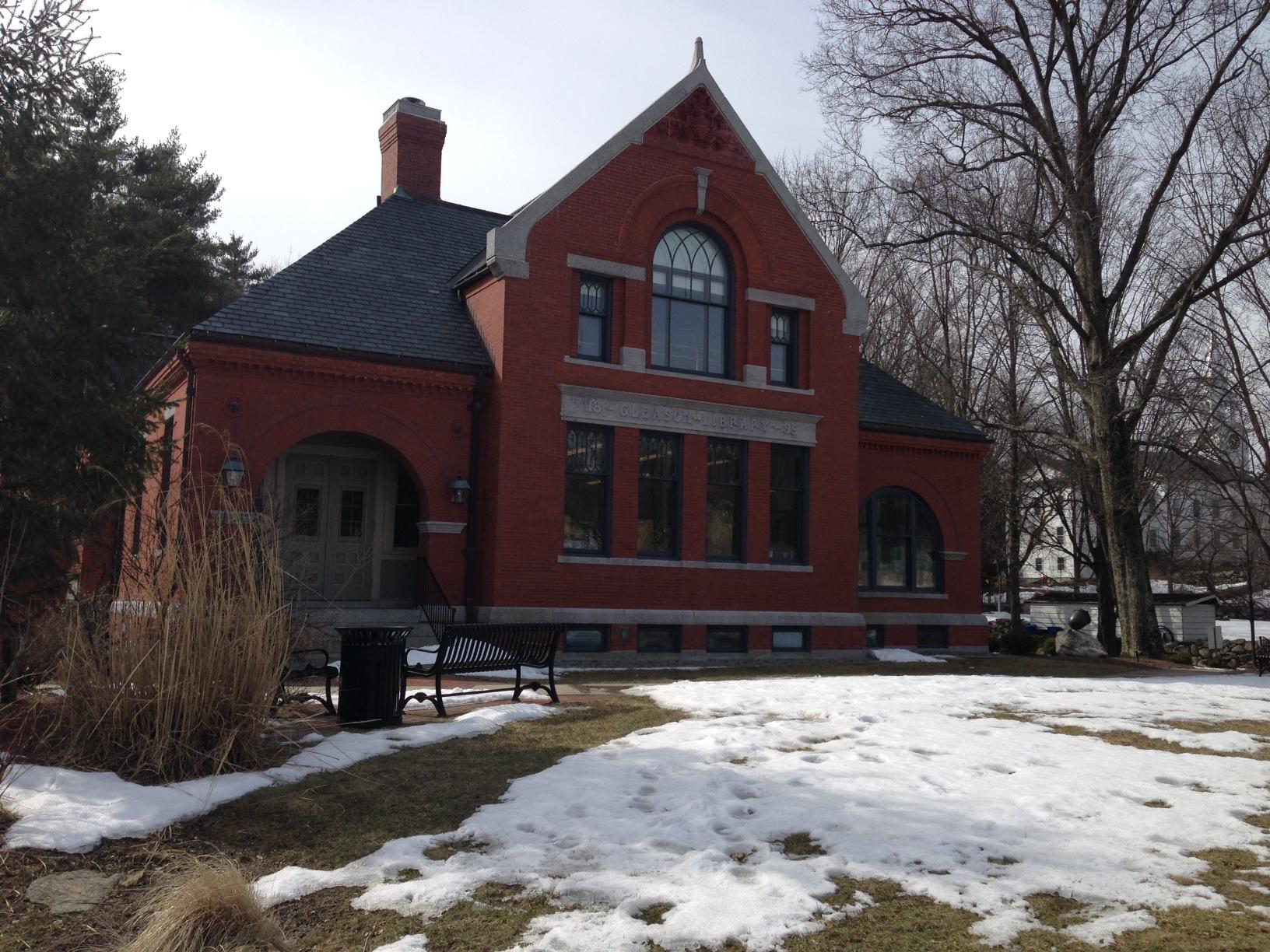 Carlisle, MA Real Estate - Gleason Public Library