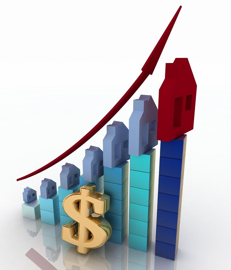 Average U.S. mortgage loan interest rates increase three consecutive weeks.