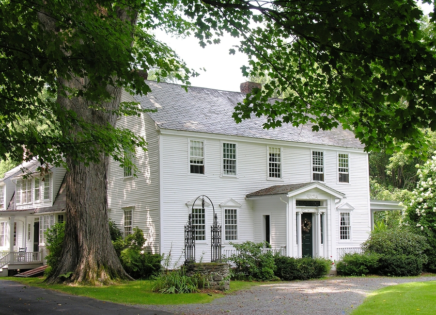 White Colonial House Peabody MA
