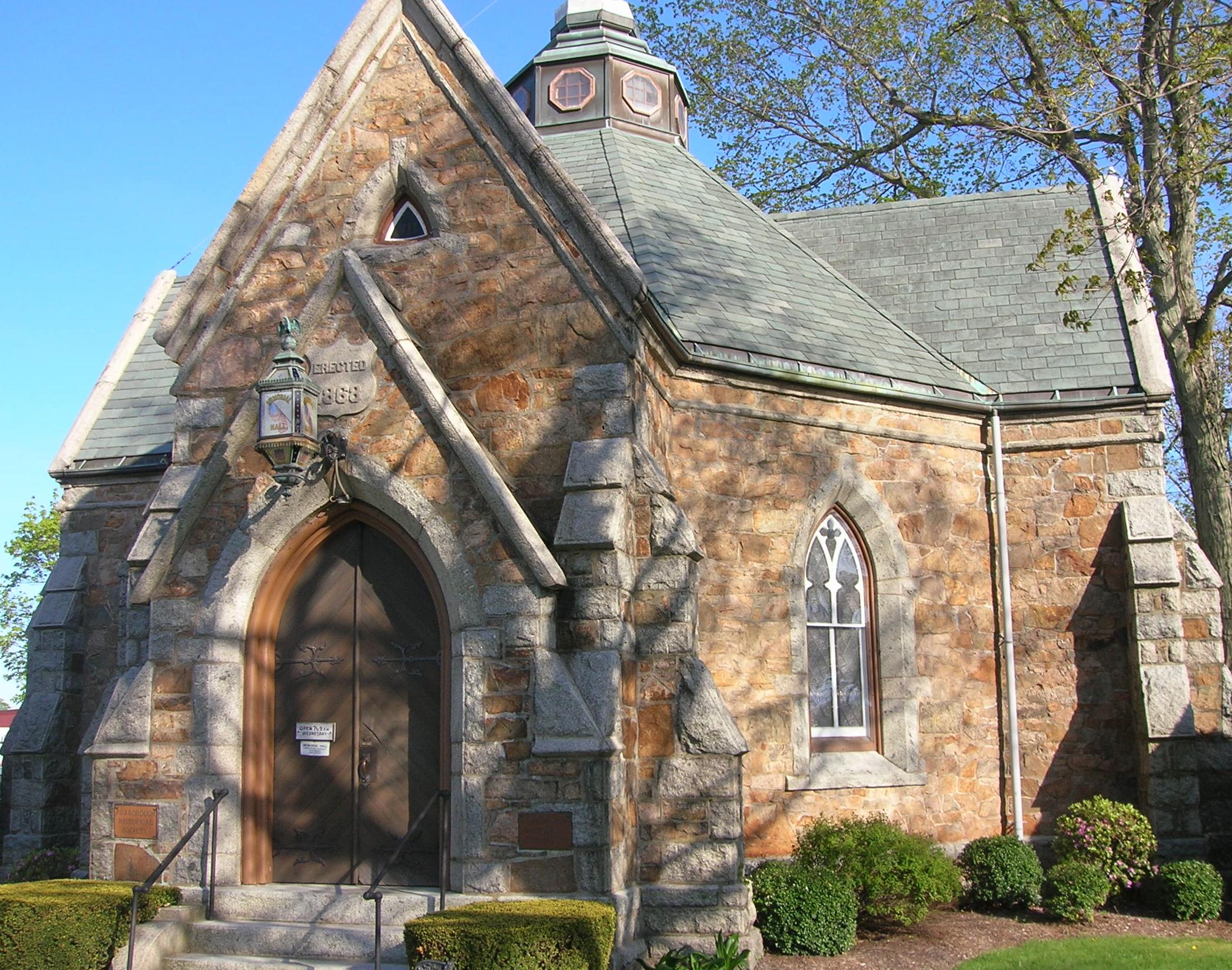 Memorial Hall in Foxborough Massachusetts