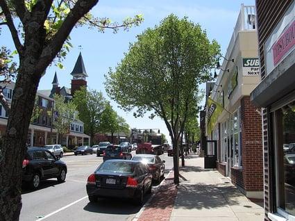 Main Street Walpole - Photo by John Phelan