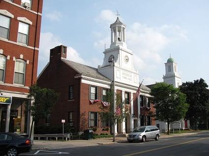 Westborough, MA Town Hall by John Phelan