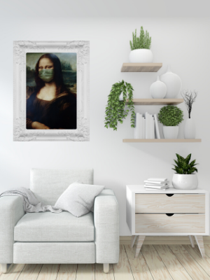 COVID-19 Mona Lisa – Massachusetts home sales.