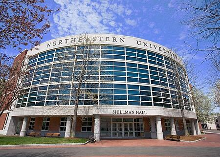 Northeastern University by the Massachusetts of Office of Travel and Tourism