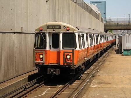 MBTA Orange Line – Photo by Adam E. Moreira