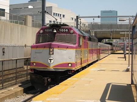 Purple Line Ruggles Station by Adam E. Moreira