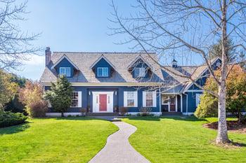 Blue House For Sale in Massachusetts