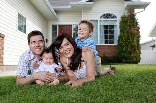 Happy Massachusetts homebuyers