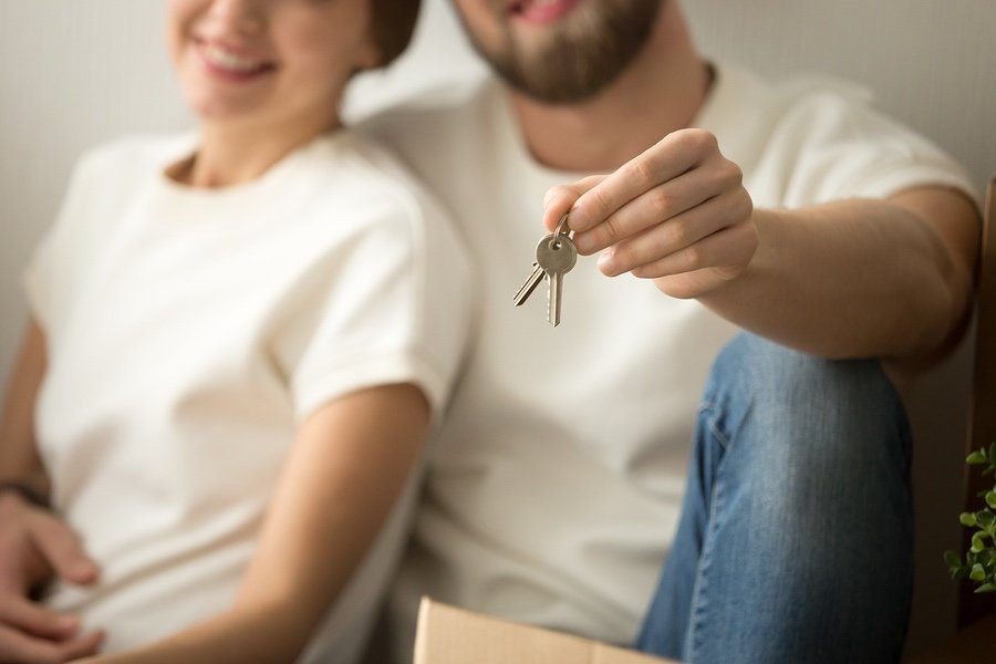 Happy homebuyers found a home despite tight real estate inventory
