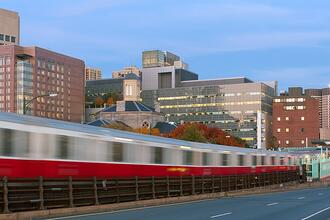 Consider public transportation when deciding where to live in Massachusetts