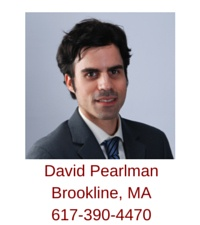 Brookline, MA Realtor David Pearlman, an exclusive buyer agent