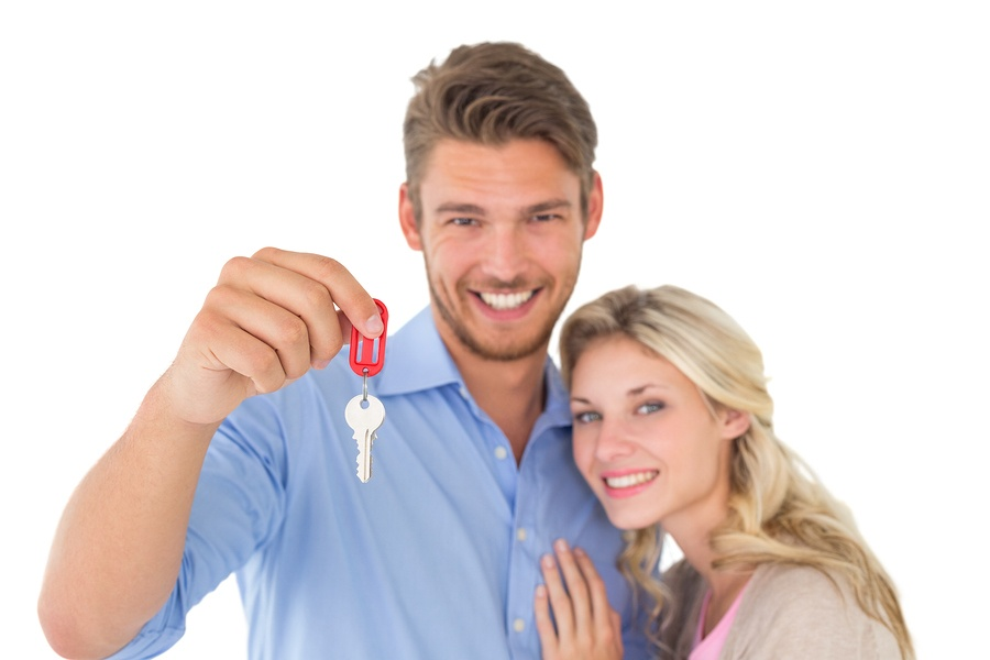 Happy home buyers who used an exclusive buyer agent
