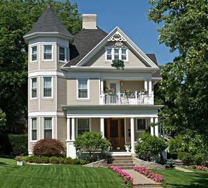 New England Victorian Home