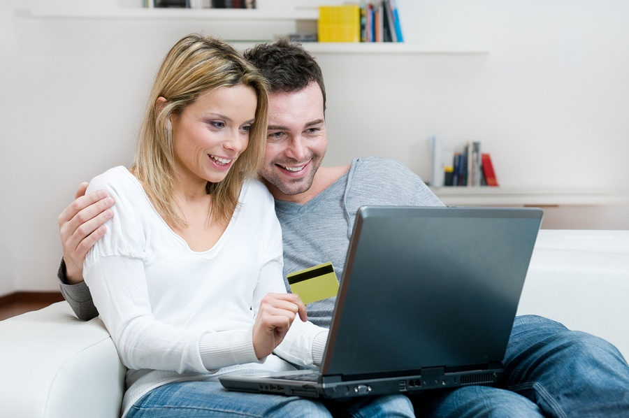 Homebuyers searching for a home