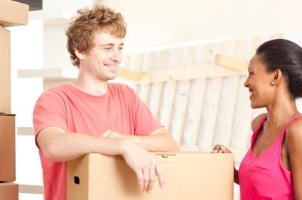 Couple moving into their East Boston condominium